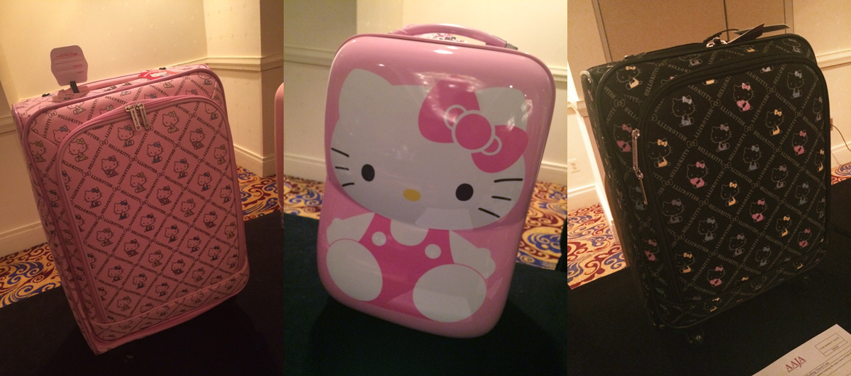 Hello Kitty at the national convention in D.C.