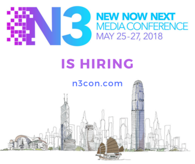**AAJA Asia is looking for our next N3con producer**