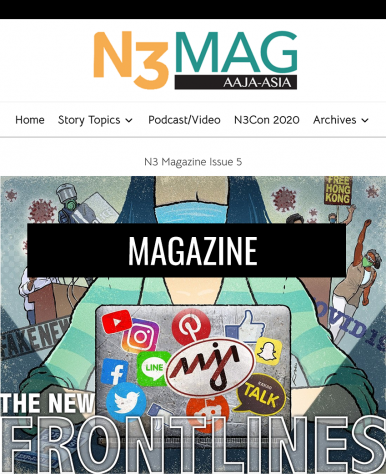 N3 Magazine - The official magazine of AAJA-Asia's New.Now.Next conference